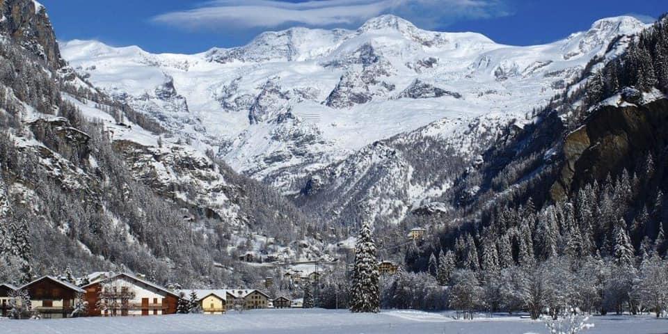 La montagna d'inverno