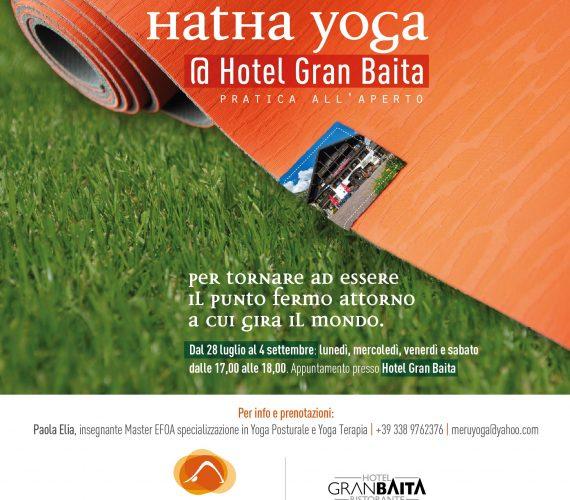 Hatha Yoga all'aperto